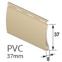 PVC 37mm - Beige - RAL 1001