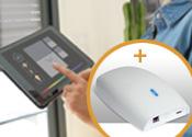 Smart-Home-Tron Motor mit Box - Sie benötigen nur 1 Box pro Haushalt!